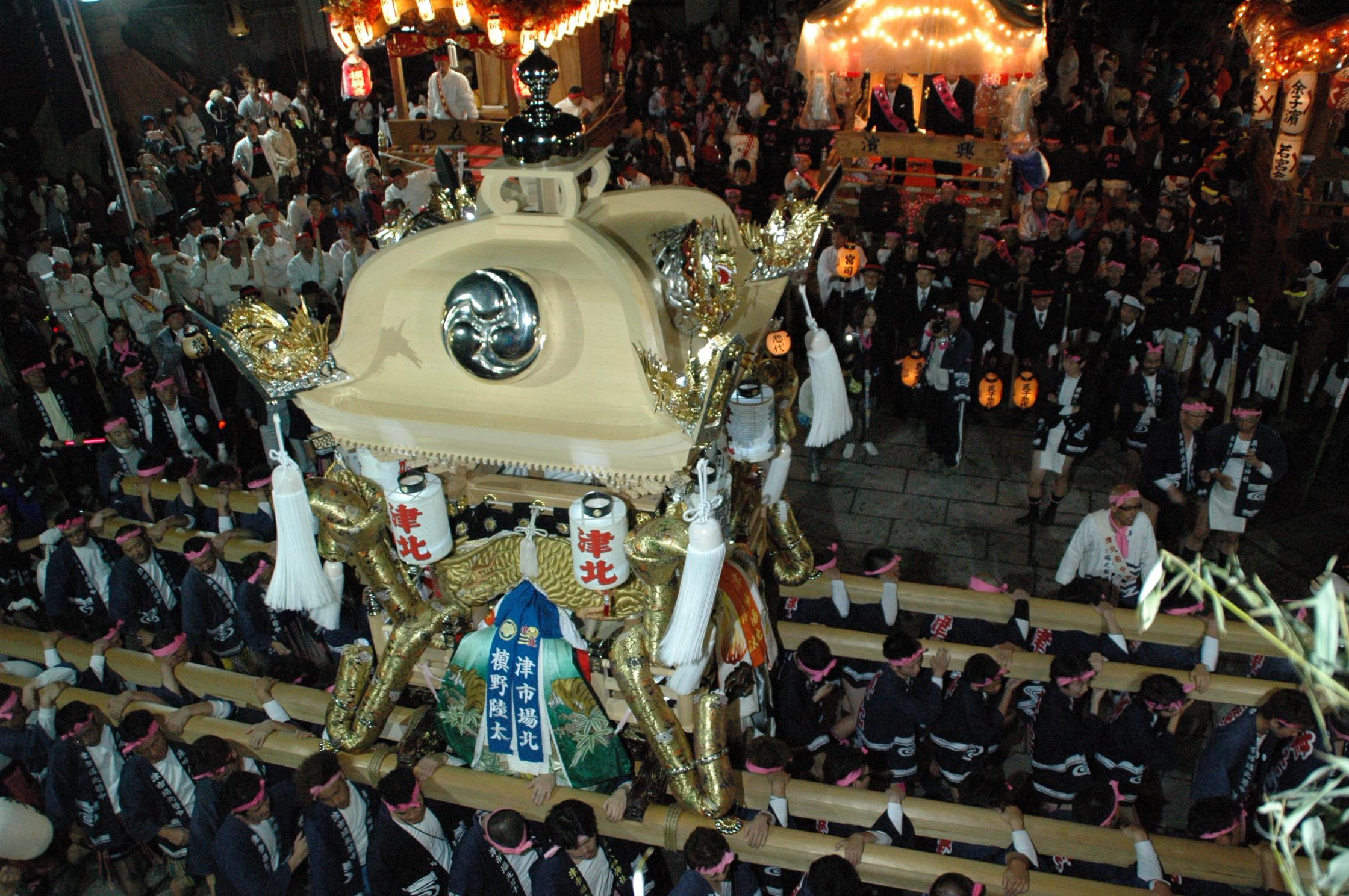 大平橋6ケ村練り合わせ(大江島、平松、吉美、長松、天満、西土井)