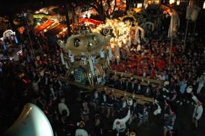 宵宮 楼門前 近隣三町 屋台練り合わせ @ 魚吹八幡神社 楼門前 | 姫路市 | 兵庫県 | 日本