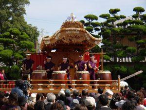 楼門前 檀尻芸の奉納 @ 魚吹八幡神社 楼門前 | 姫路市 | 兵庫県 | 日本
