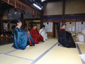 神事(還御祭) @ 魚吹八幡神社 ご本殿 | 姫路市 | 兵庫県 | 日本