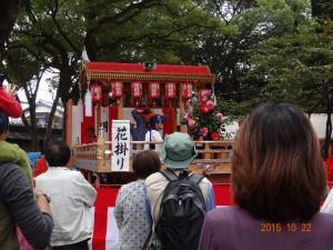 獅子檀尻 獅子舞の奉納 @ 魚吹八幡神社 境内 | 姫路市 | 兵庫県 | 日本