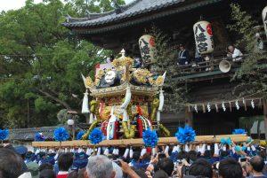 長松、天満 屋台 練り合わせ @ 天満蛭子神社 | 姫路市 | 兵庫県 | 日本