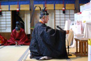 令和2年 魚吹八幡神社 秋季例祭(神事のみ斎行)